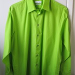 Green, ACTUALLY long-sleeved