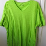 IMG_1509 Crazy Green T Shirt